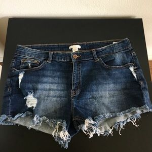 H&M Jean Shorts Denim